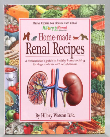 Hilary's Blend Renal Support Recipe Book