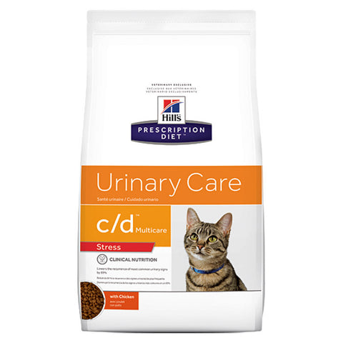 Hill's Feline C/D Multi-Care Urinary Stress Chicken Dry Food