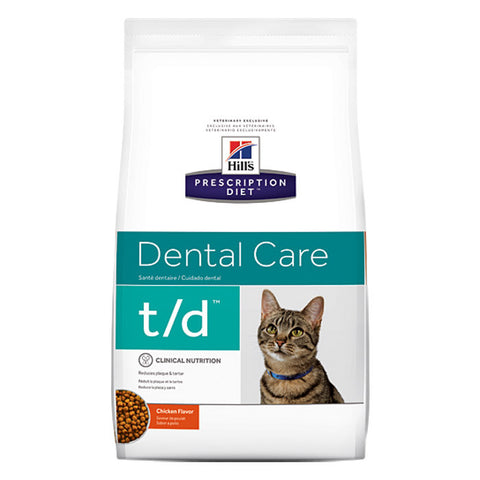 Hills Feline T/D Dental Food