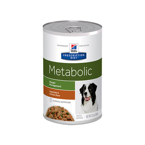 Hill's Canine Metabolic Weight Management- Chicken and Vegetable Stew - Case
