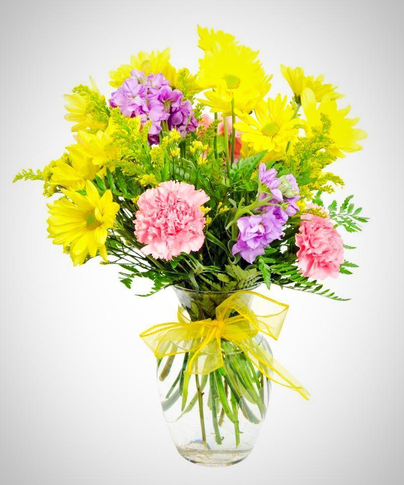 Fields of Guernsey Bouquet - Fineflora Flowers
