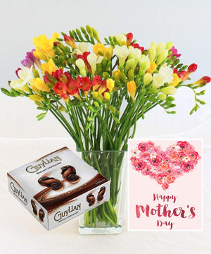 Mother's Day Freesia Gift - Fineflora Flowers