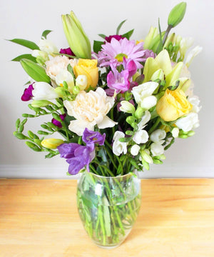Pastel Bouquet - Fineflora Flowers