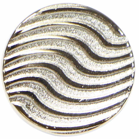 Silver Waves  (3pk)- 15mm