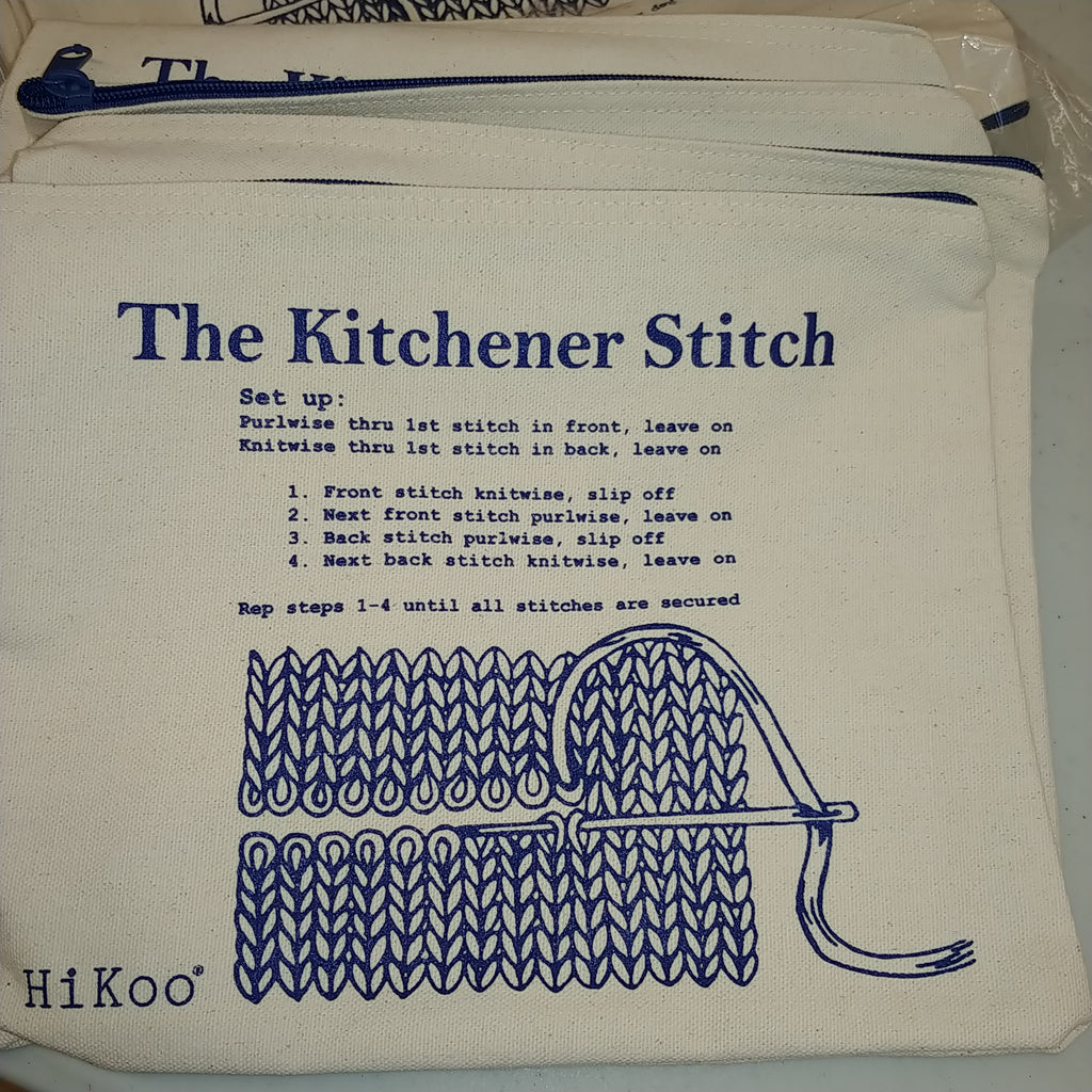 Kitchener Stitch Bags