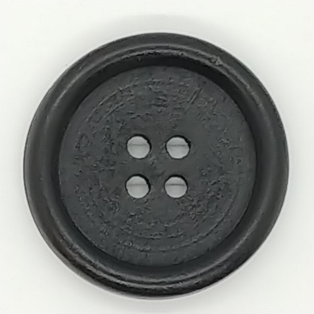 Black Wooden-(2pk)-30mm
