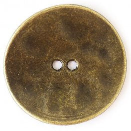 Flat Antique Gold (2pk)- 30mm
