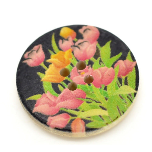 Wood Tulip-30mm-(2pk)