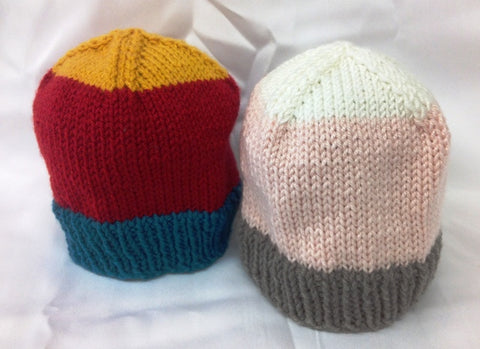3 Colour Baby Hat - Kit