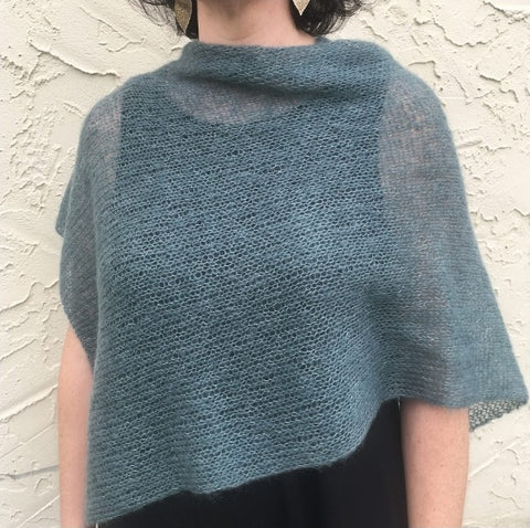 Feather Wrap (it's really a poncho) - Kit