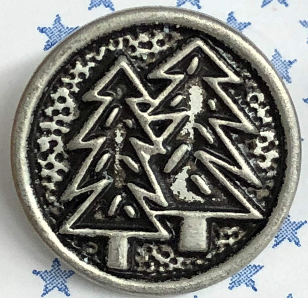 Silver Trees (3pk)- 18mm