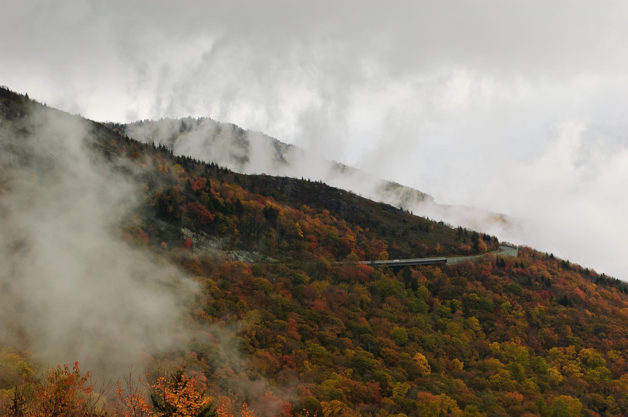 Fall On the blue ridge parkway