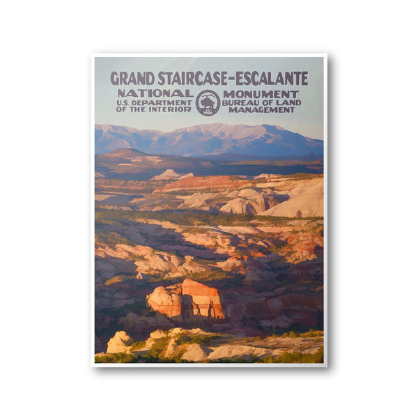 Grand Staircase-Escalante National Monument Poster - National Park Life