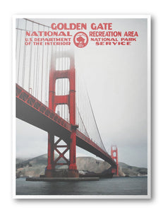 Golden Gate National Recreation Area Poster - National Park Life