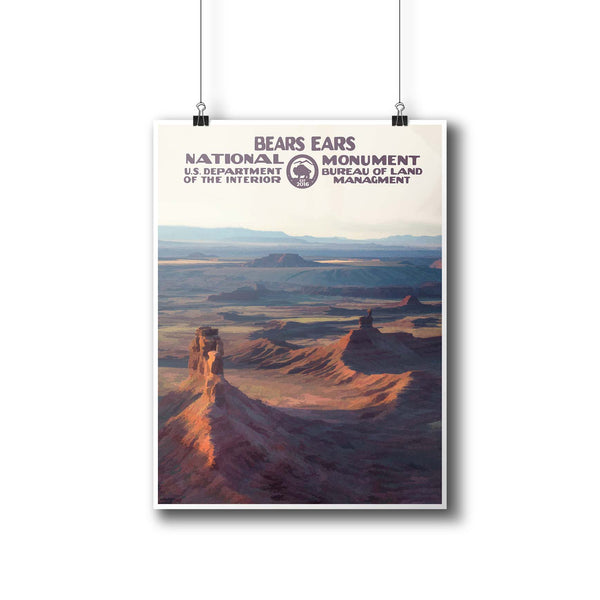 Bears Ears National Monument Poster - National Park Life
