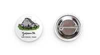 Yosemite National Park Button - National Park Life