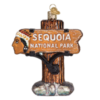 Sequoia National Park Christmas Ornament | Glass Blown - National Park Life