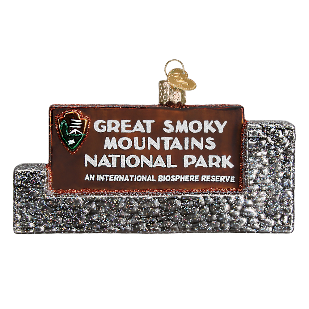 Great Smoky Mountains National Park Christmas Ornament | Glass Blown - National Park Life