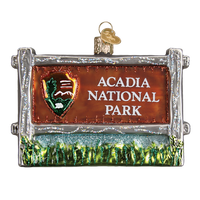 Acadia National Park Christmas Ornament | Glass Blown - National Park Life