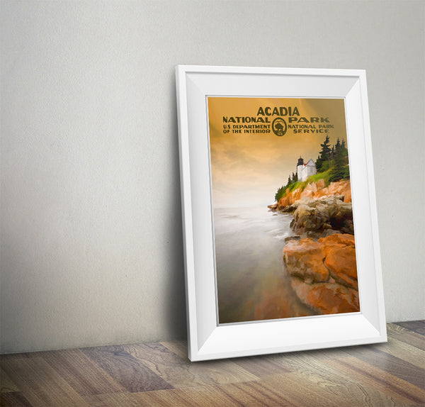 Acadia National Park Poster - National Park Life