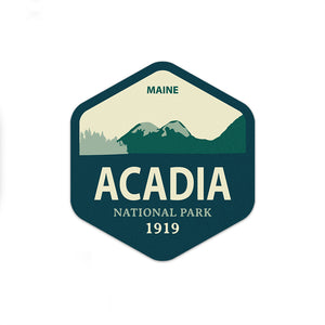 Acadia National Park Sticker | National Park Decal | Multiple Sizes Available - National Park Life
