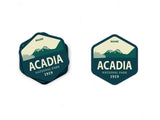 Acadia National Park Sticker - National Park Life