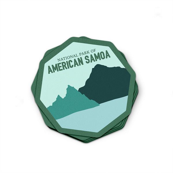 American Samoa National Park Sticker | National Park Decal - National Park Life