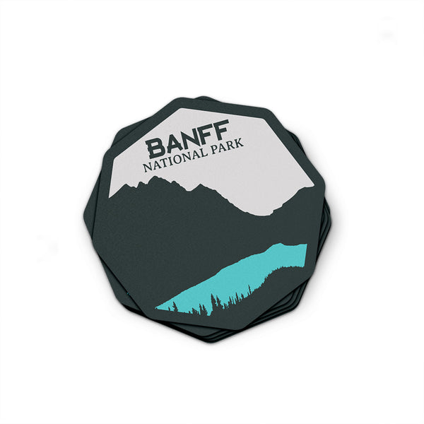 Banff National Park Sticker | National Park Decal - National Park Life