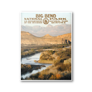 Big Bend National Park Poster - National Park Life