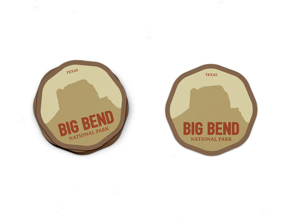 Big Bend National Park Sticker | National Park Decal - National Park Life