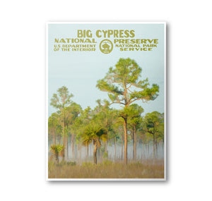 Big Cypress National Preserve Poster - National Park Life