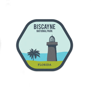Biscayne National Park Sticker | National Park Decal - National Park Life