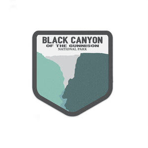 Black Canyon Of The Gunnison National Park Sticker | National Park Decal - National Park Life