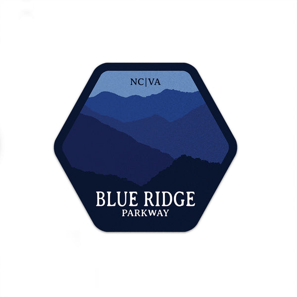 Blue Ridge Parkway Sticker | National Park Sticker | National Park Decal | - National Park Life