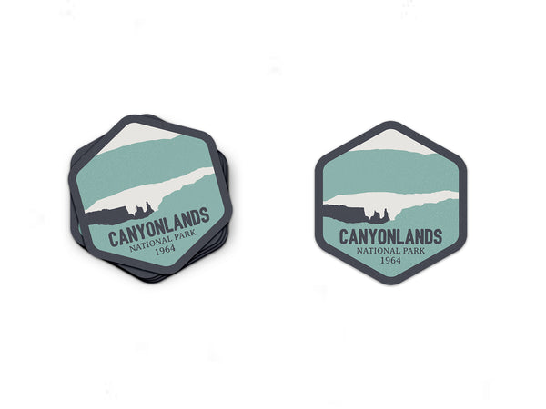 Canyonlands National Park Sticker | National Park Decal - National Park Life