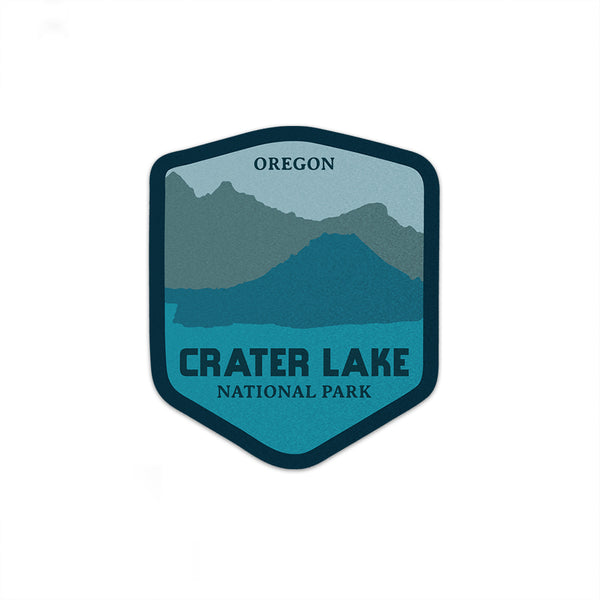 Crater Lake National Park Sticker | National Park Decal - National Park Life
