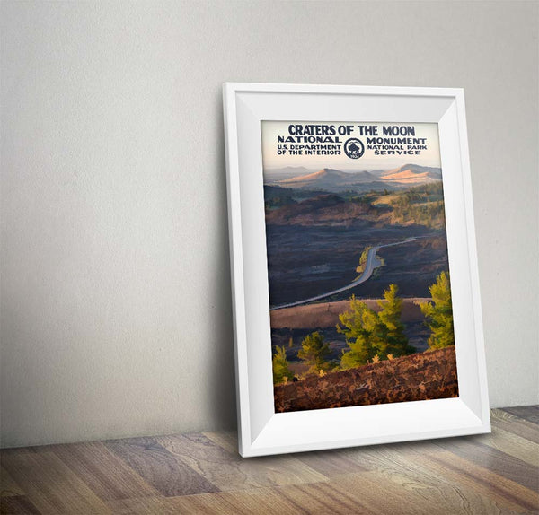 Craters Of The Moon National Monument Poster - National Park Life