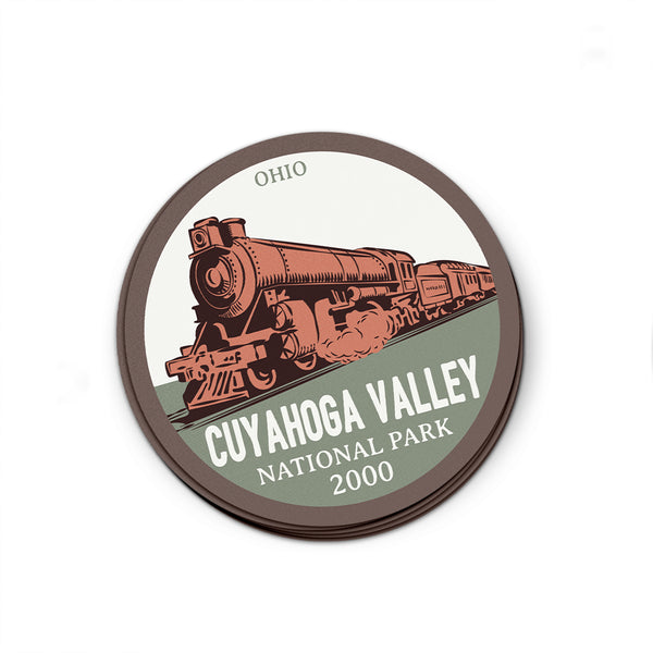 Cuyahoga Valley National Park Sticker | National Park Decal - National Park Life