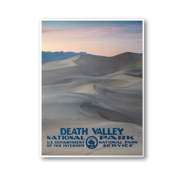 Death Valley National Park Poster - National Park Life