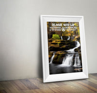 Delaware Water Gap National Recreation Area Poster - National Park Life