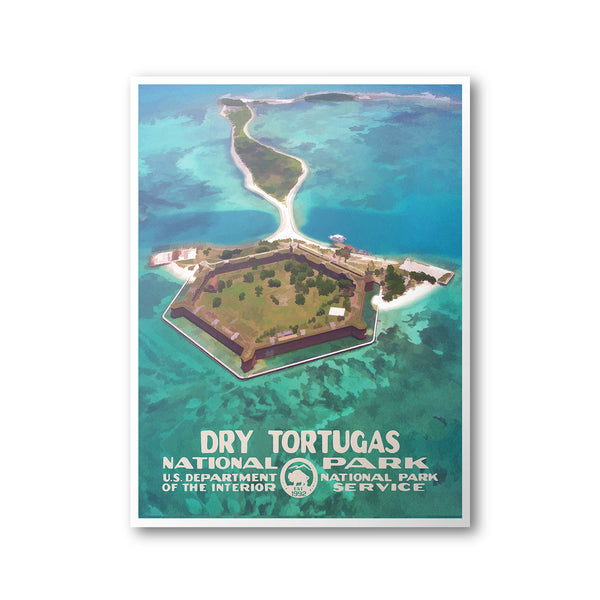 Dry Tortugas National Park Poster - National Park Life