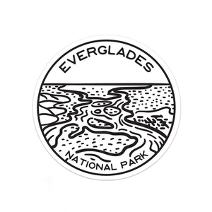 Everglades National Park Sticker | National Park Decal - National Park Life
