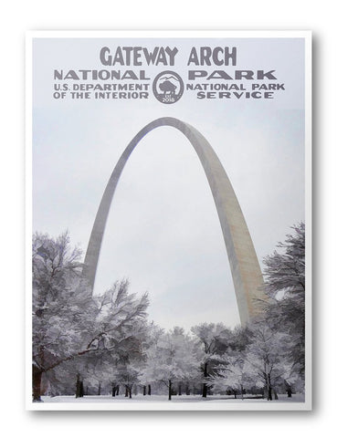Gateway Arch National Park Poster - National Park Life