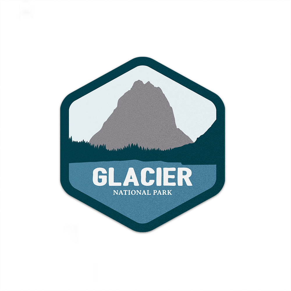 Glacier National Park Sticker | National Park Decal - National Park Life