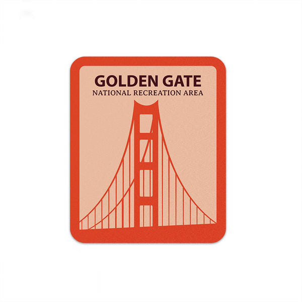 Golden Gate National Recreation Area Sticker | National Park Sticker | National Park Decal - National Park Life