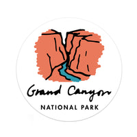 Grand Canyon National Park Sticker - National Park Life
