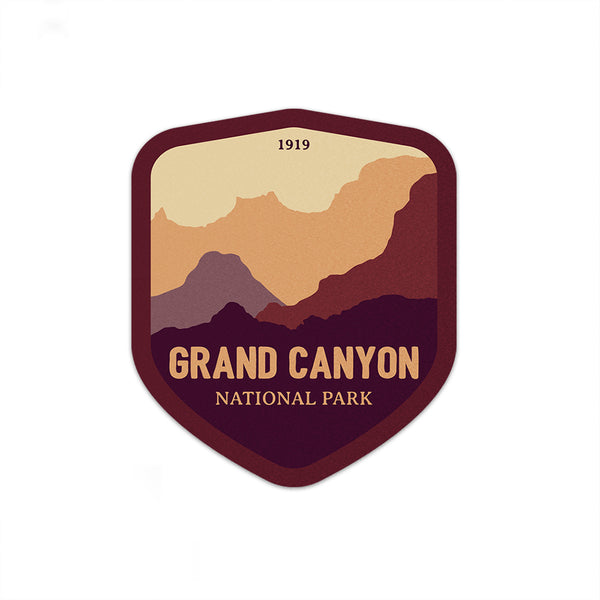 Grand Canyon National Park Sticker | National Park Decal - National Park Life