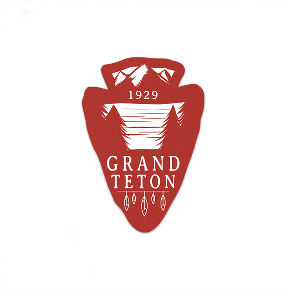 Grand Teton National Park Sticker | National Park Decal | Multiple Sizes Available - National Park Life