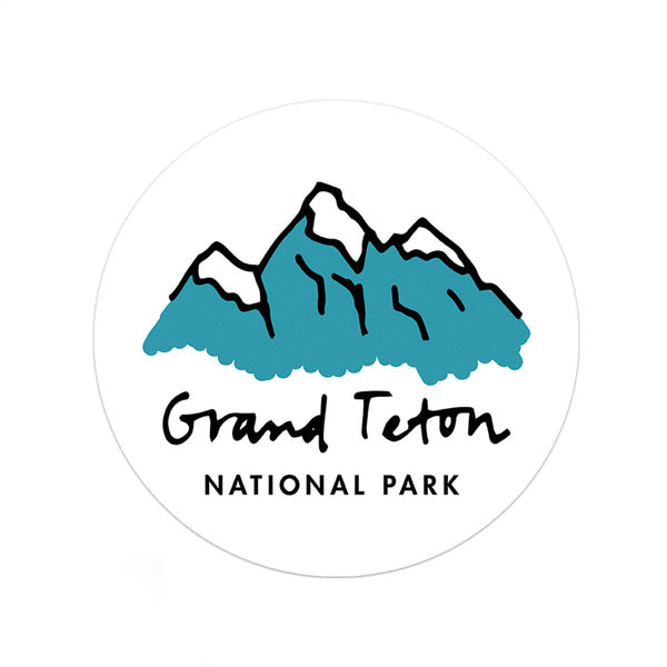 Grand Teton National Park Sticker - National Park Life