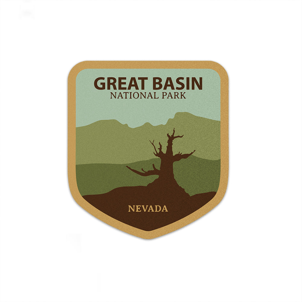 Great Basin National Park Sticker | National Park Decal - National Park Life